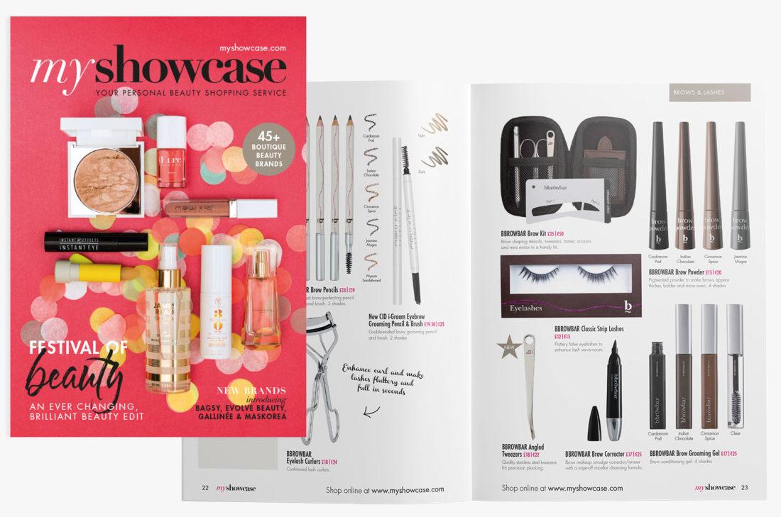 MyShowcase March Beauty Bible 2017 – Brand+Soul – Brand Strategy | Logo & Identity Design | Brochure Catalogue & Direct Mail | Marketing | Web & Digital