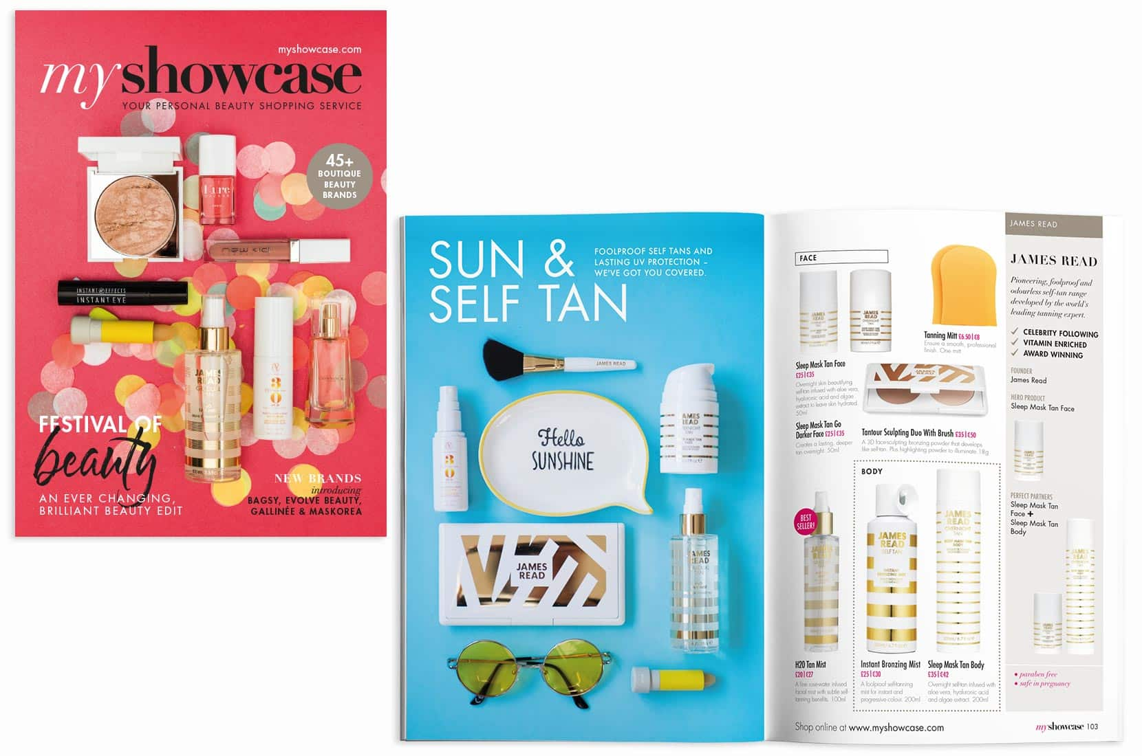 MyShowcase – March Beauty Bible 2017 – Brand+Soul – Brand Strategy | Logo & Identity Design | Brochure Catalogue & Direct Mail | Marketing | Web & Digital