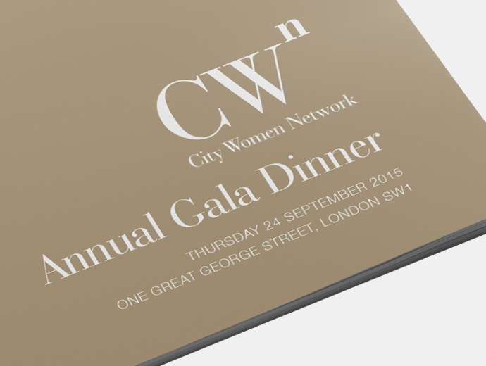 City Women Network Annual Gala Dinner Cover 2016