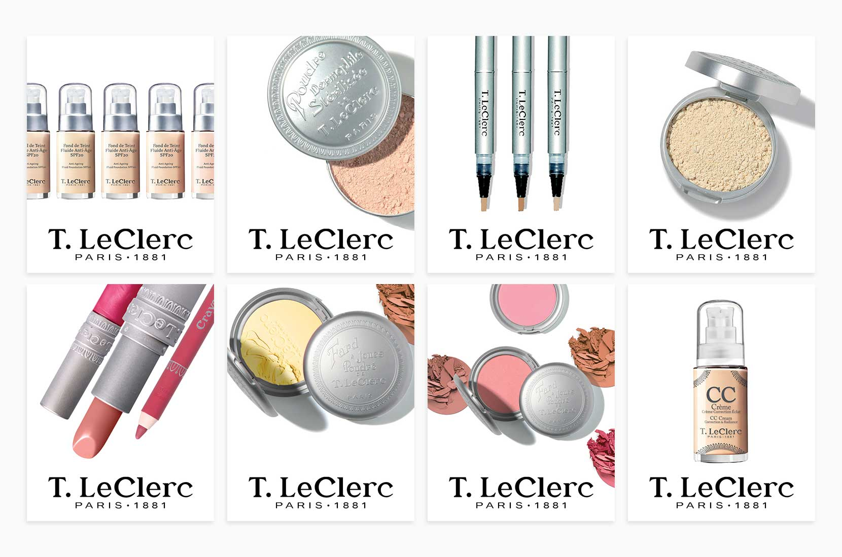 T. LeClerc Makeup Cards
