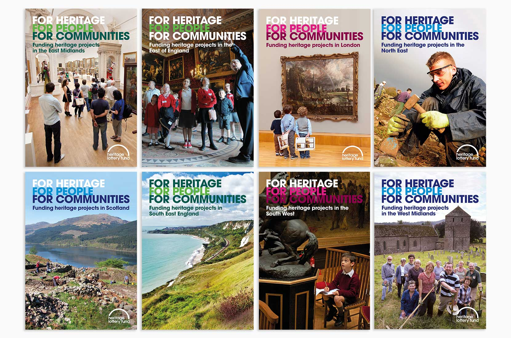 Heritage Lottery Fund Regional Programme Covers