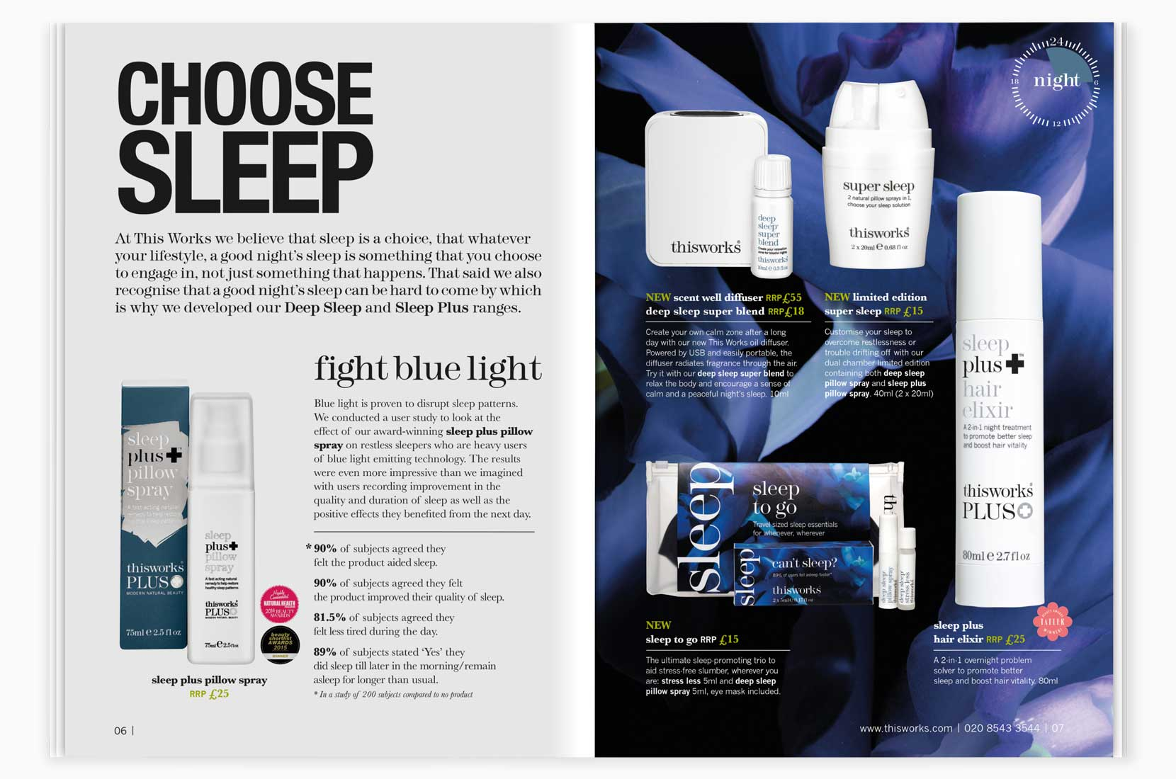 This Works Autumn Mailer 2016 – New Sleep Product Spread