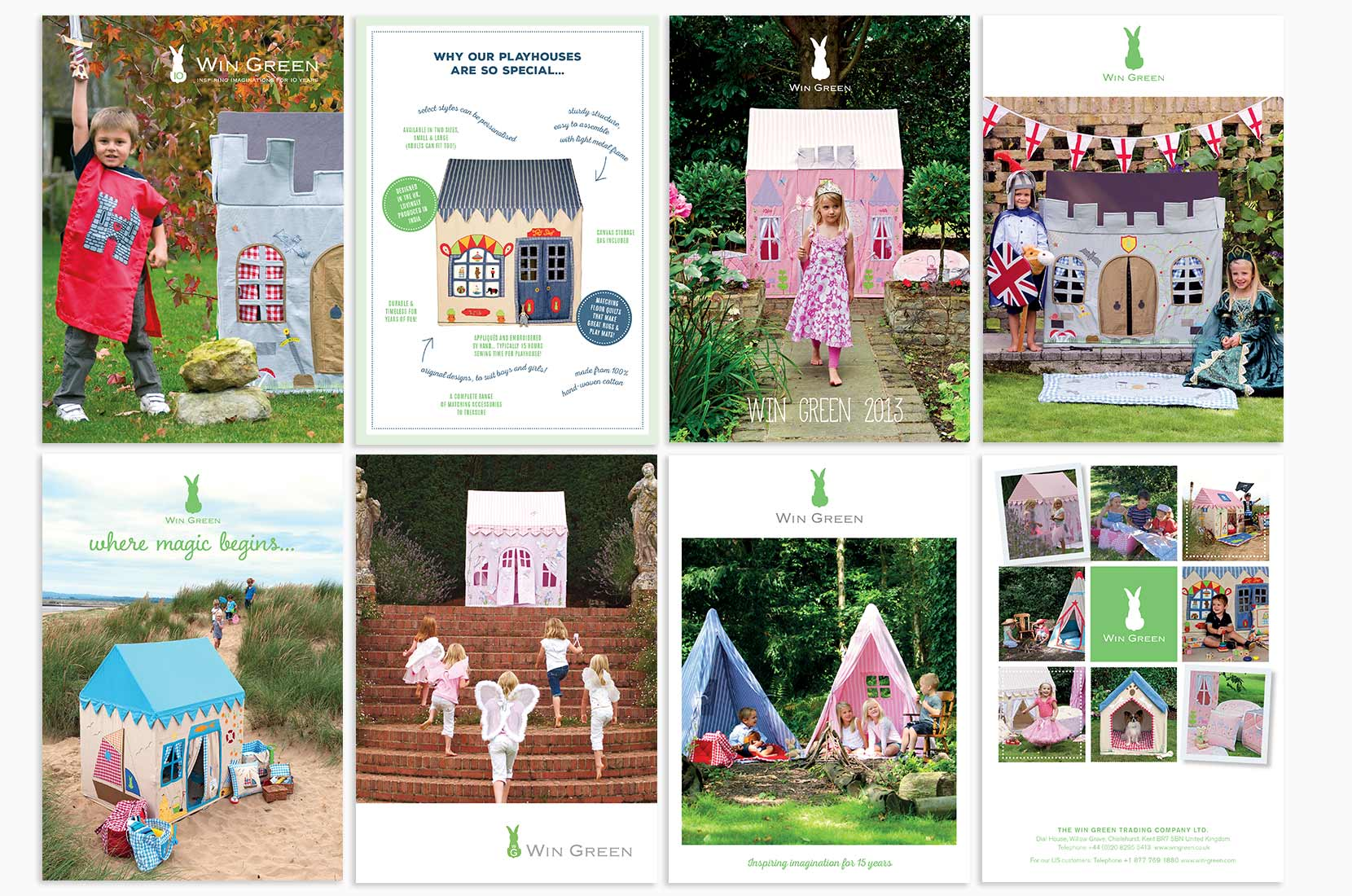 Win Green collected cover artwork – Brand+Soul – Brand Strategy | Logo & Identity Design | Brochure Catalogue & Direct Mail | Marketing | Web & Digital