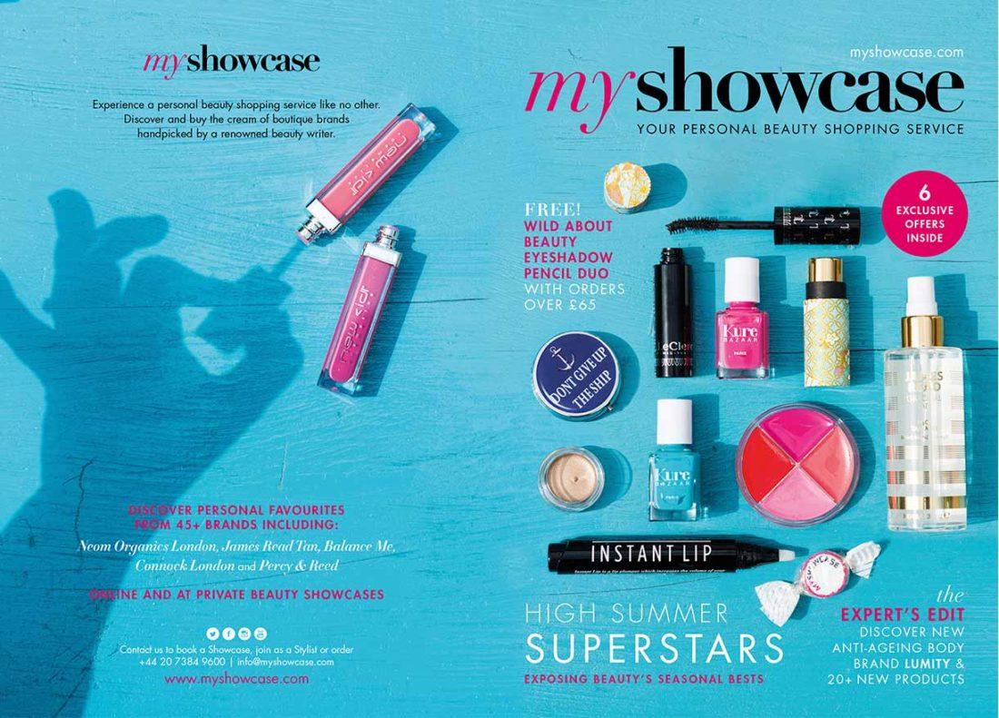 MyShowcase July 2016 – Brand+Soul – Brand Strategy | Logo & Identity Design | Brochure Catalogue & Direct Mail | Marketing | Web & Digital