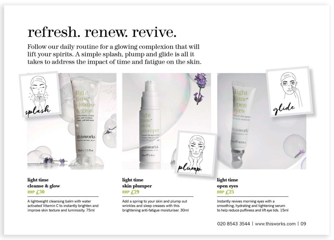ThisWorks Refresh Renew Revive page