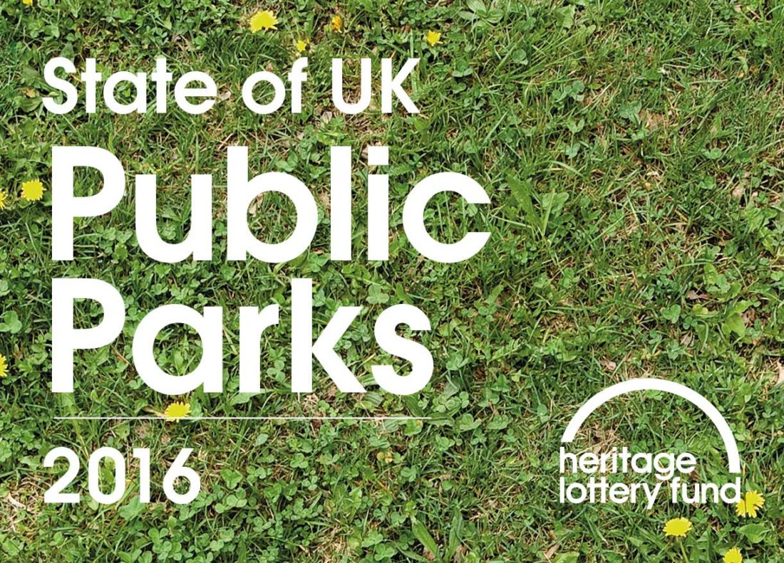Heritage Lottery Find – State of UK Public Parks 2016