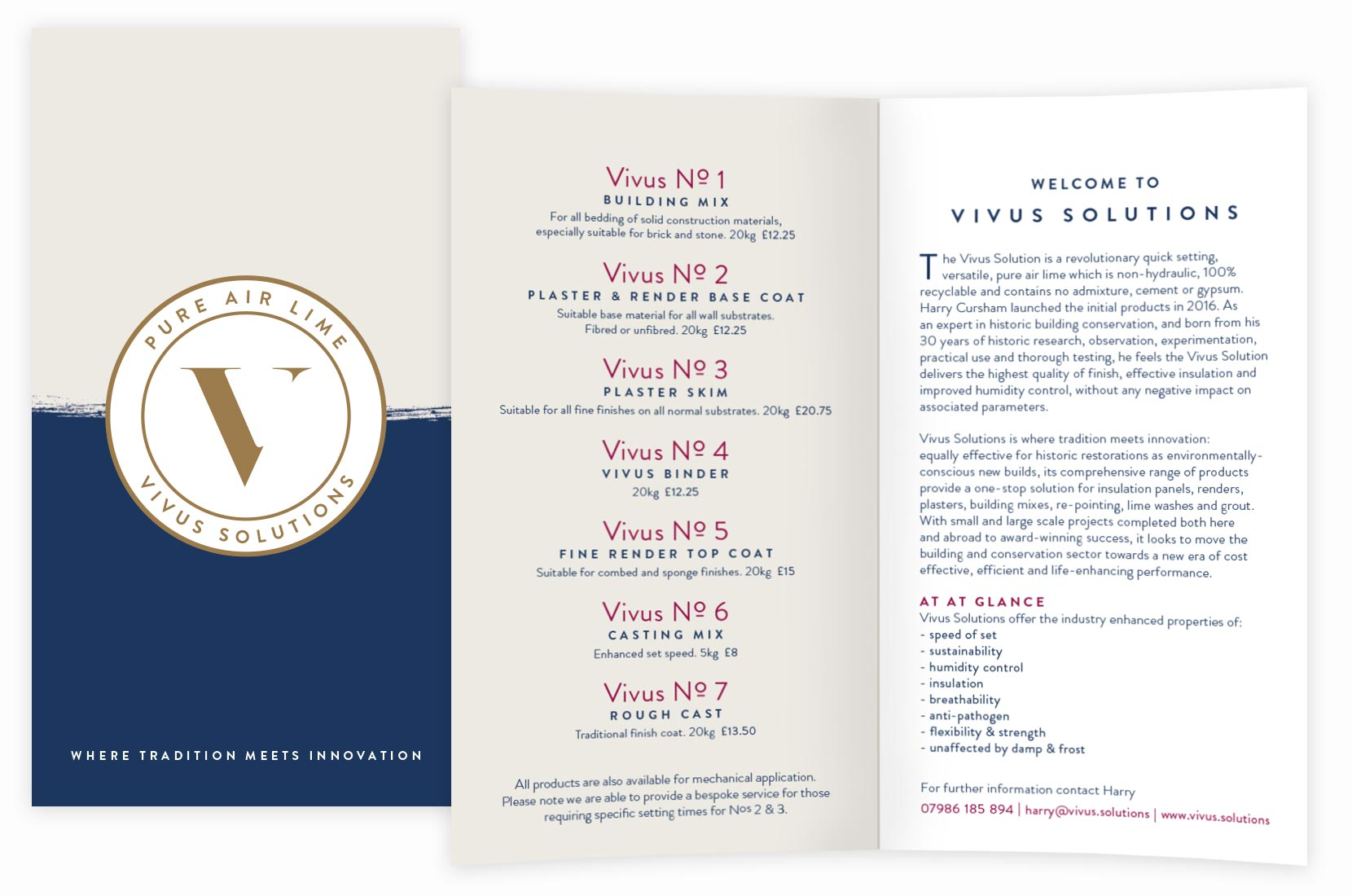 Vivus Solutions Pure Air Lime Product Leaflet