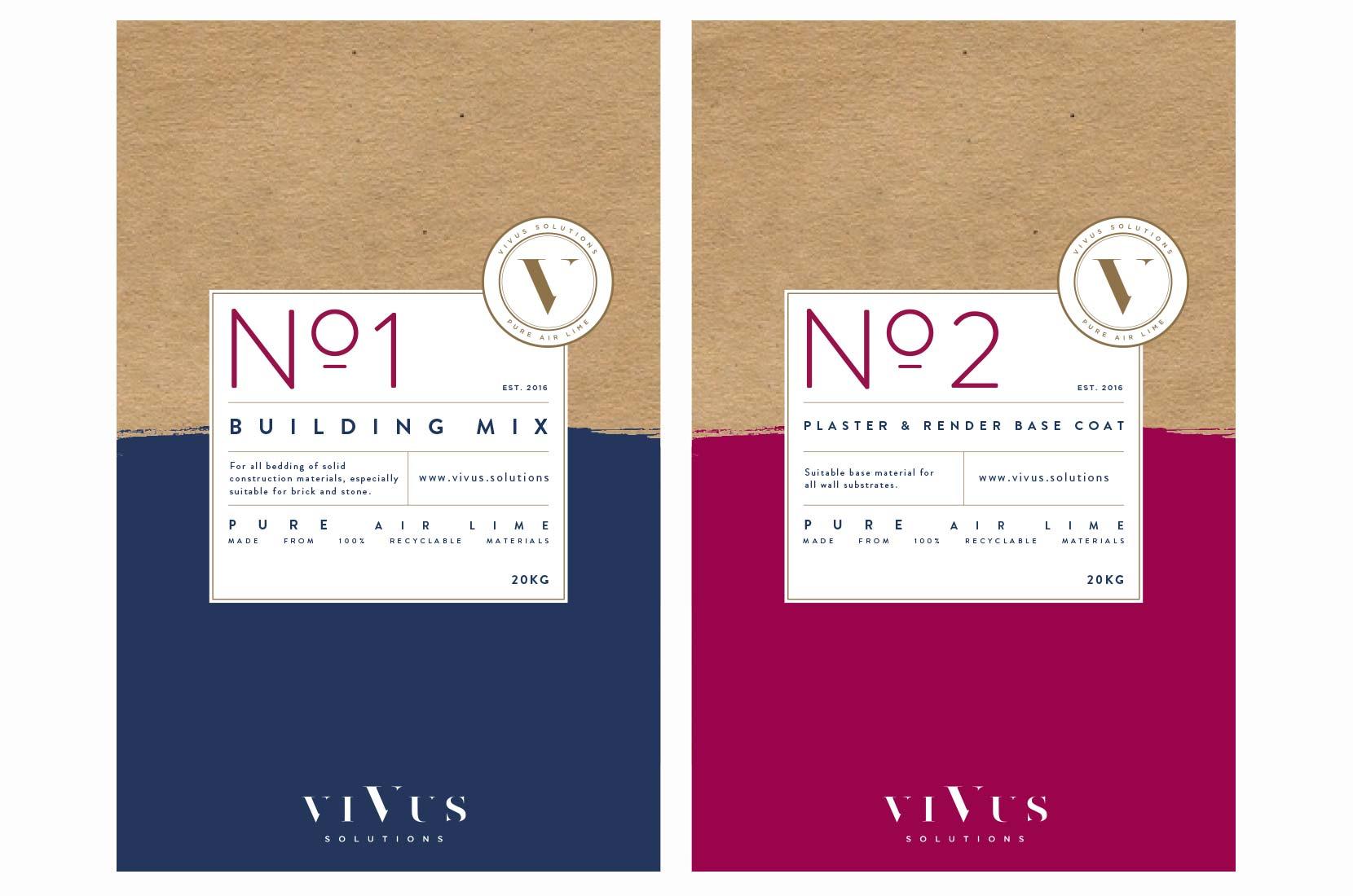 Vivus Solutions Product Mock-ups