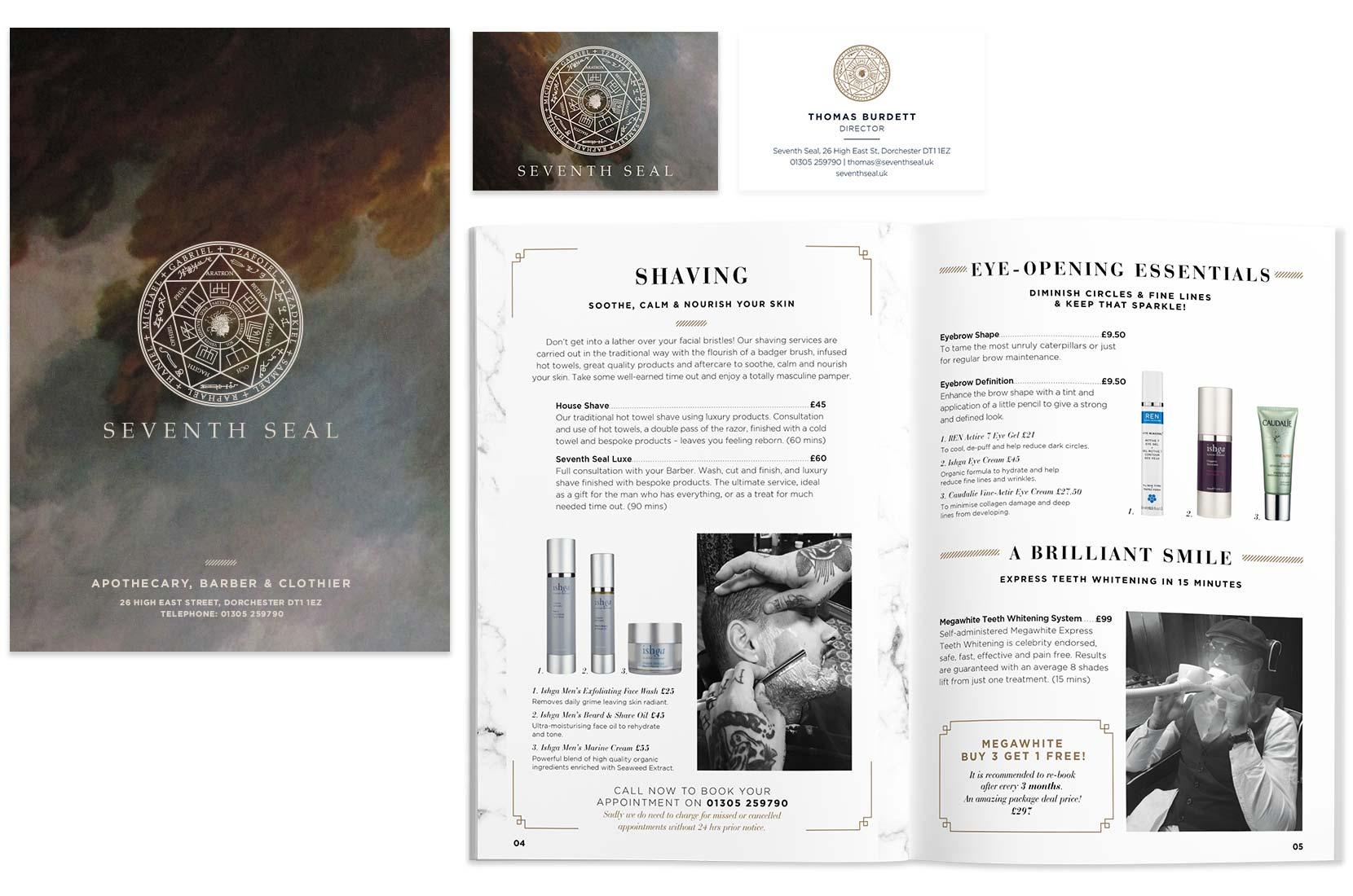 Seventh Seal – Brand+Soul – Brand Strategy   Logo & Identity Design   Brochure Catalogue & Direct Mail   Marketing   Web & Digital
