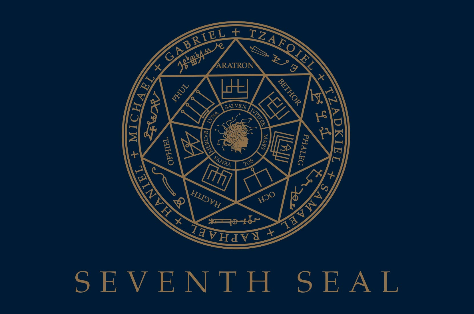 Seventh Seal logo artwork– Brand+Soul – Brand Strategy | Logo & Identity Design | Brochure Catalogue & Direct Mail | Marketing | Web & Digital