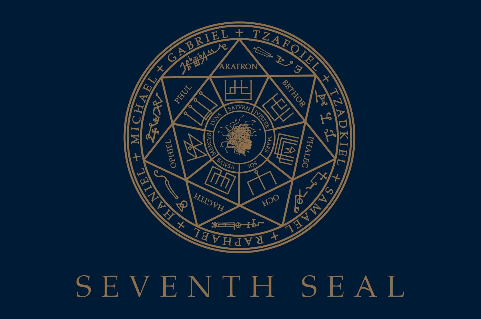 Seventh Seal logo artwork– Brand+Soul – Brand Strategy   Logo & Identity Design   Brochure Catalogue & Direct Mail   Marketing   Web & Digital