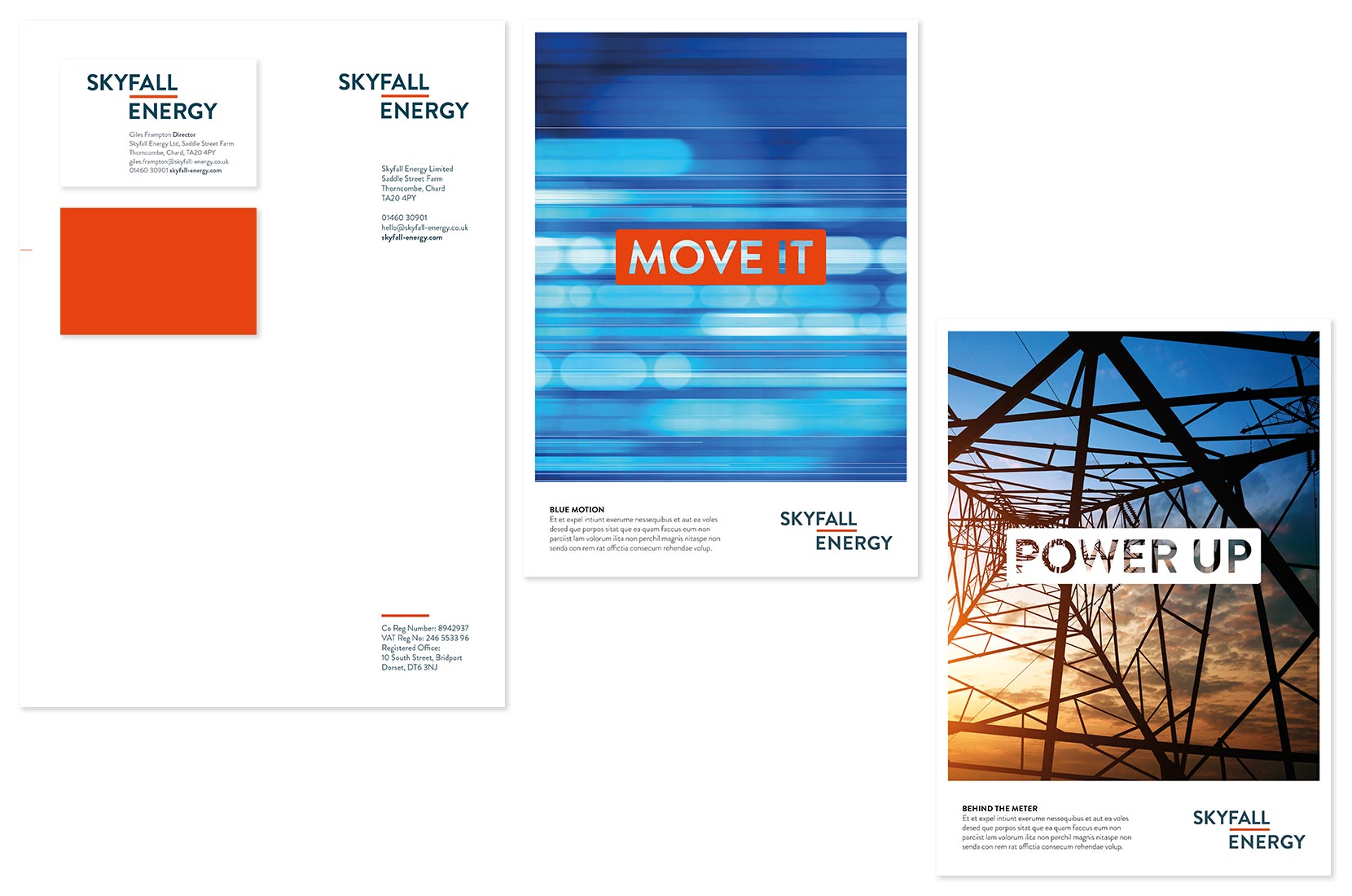 Brand+Soul – Skyfall Energy | Graphic Design, Branding, Identity
